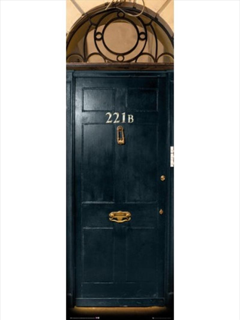 Sherlock 221B Door Poster | Merchandise