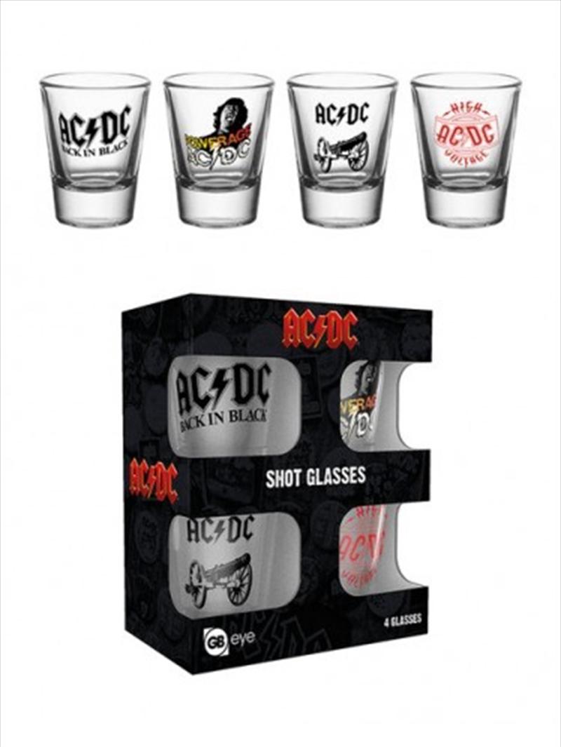 ACDC Mix Shot Glasses | Miscellaneous