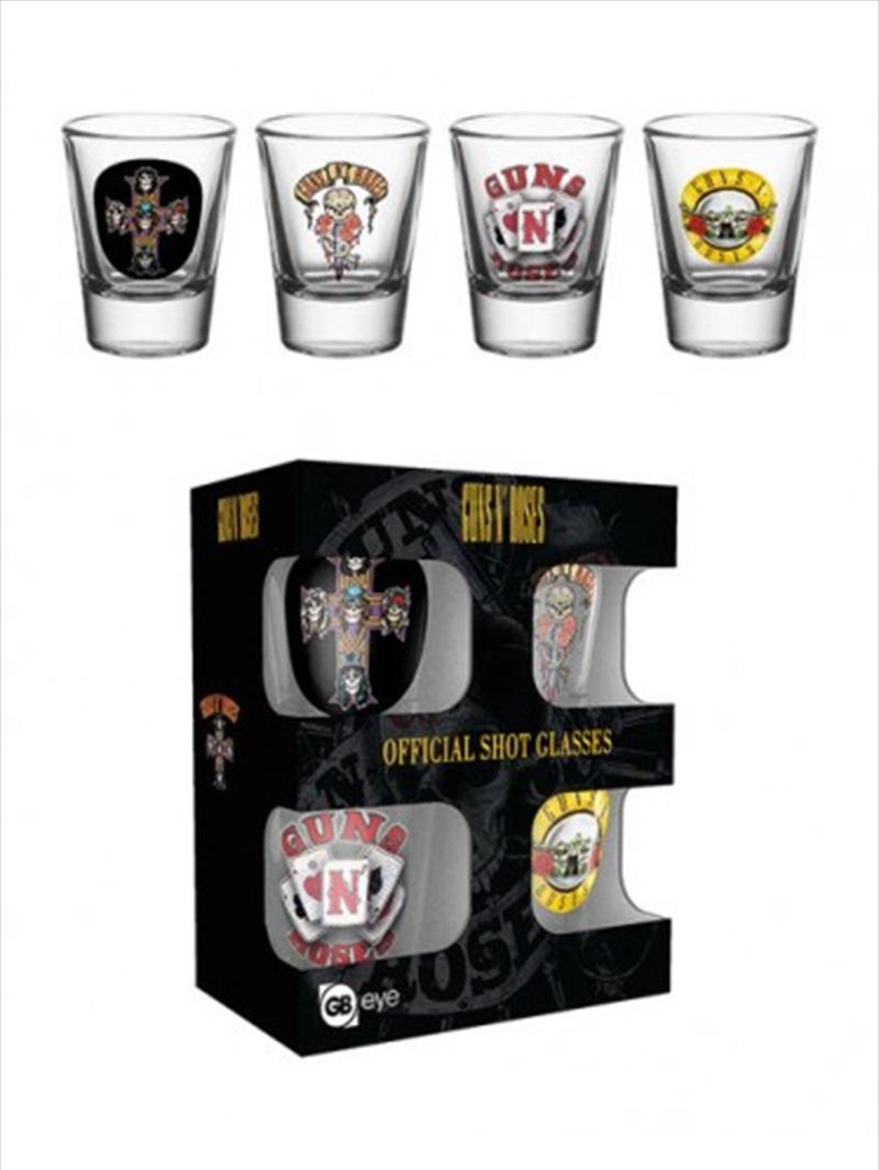 Guns n Roses Mix Shot Glasses | Miscellaneous