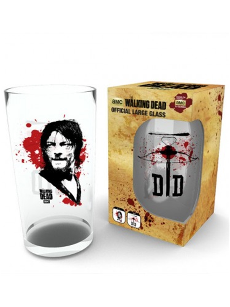 The Walking Dead Daryl Large Glass | Miscellaneous