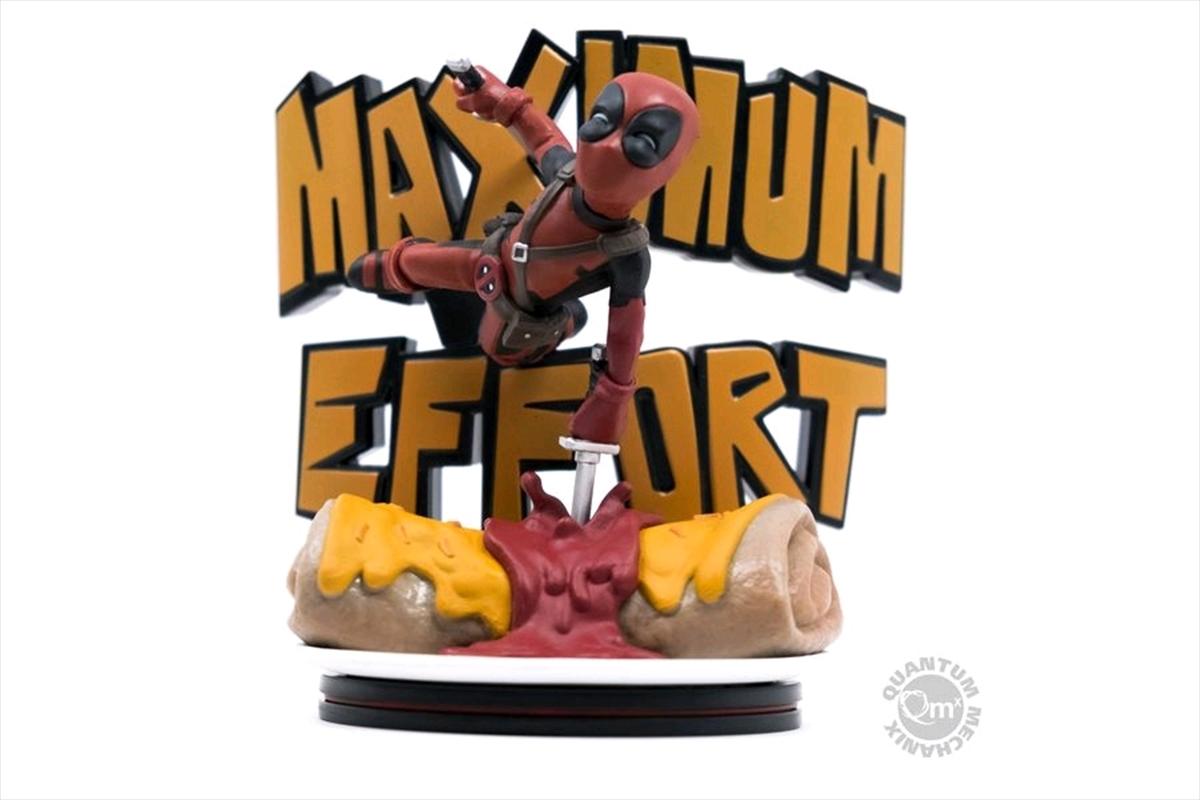 Deadpool - Maximum Effort Q-Fig Diorama | Merchandise
