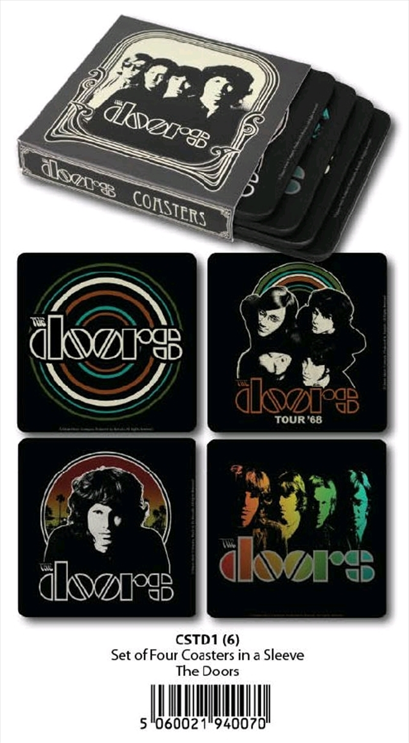 The Doors - Coasters Set Of 4 In Sleeve | Merchandise