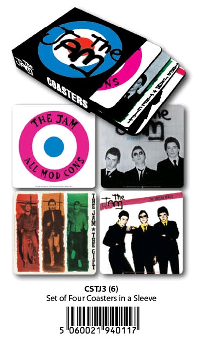 The Jam - Coasters Set of 4 In Sleeve | Merchandise