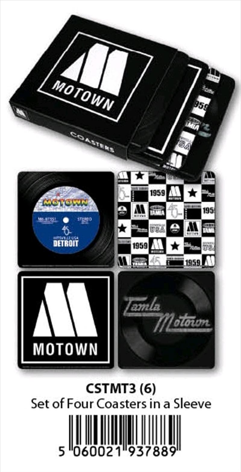 Motown - Coasters (Set Of 4 In Sleeve) | Merchandise