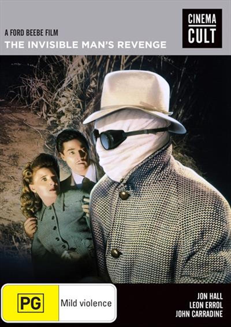 Invisible Man's Revenge, The | DVD