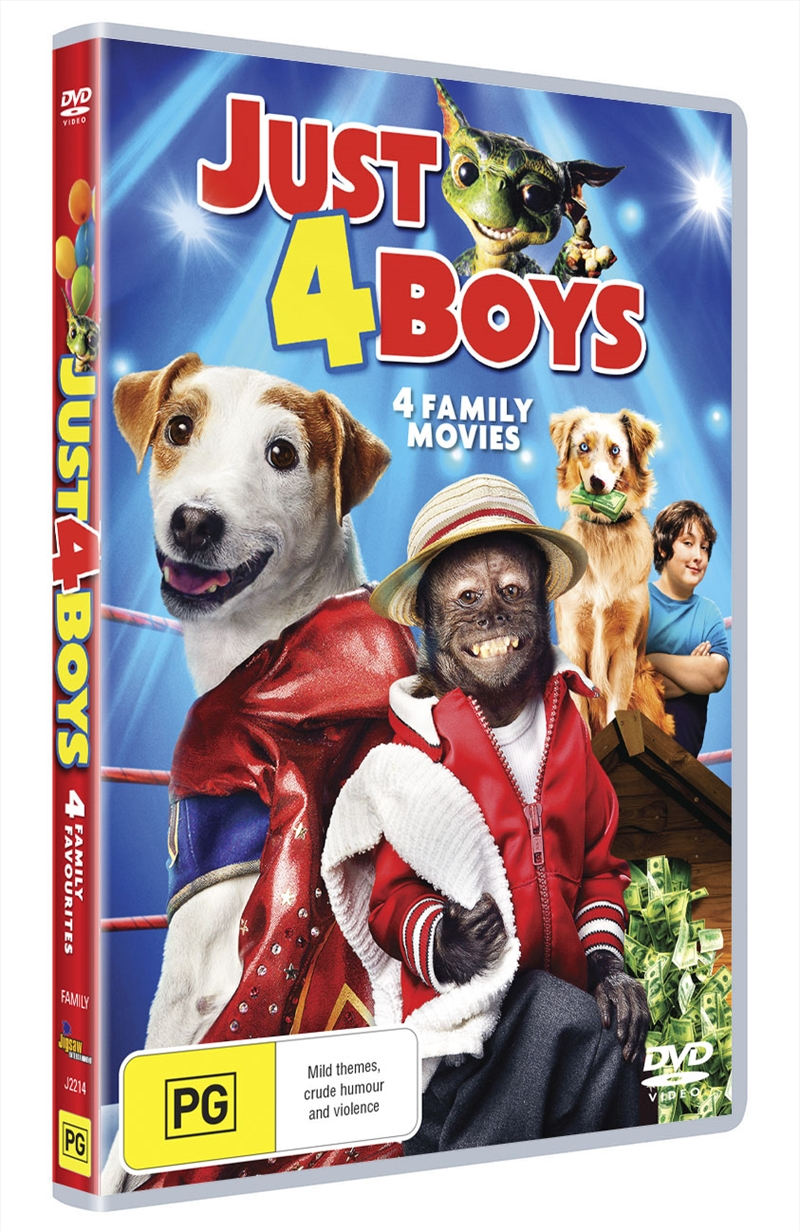 Just For Boys | DVD