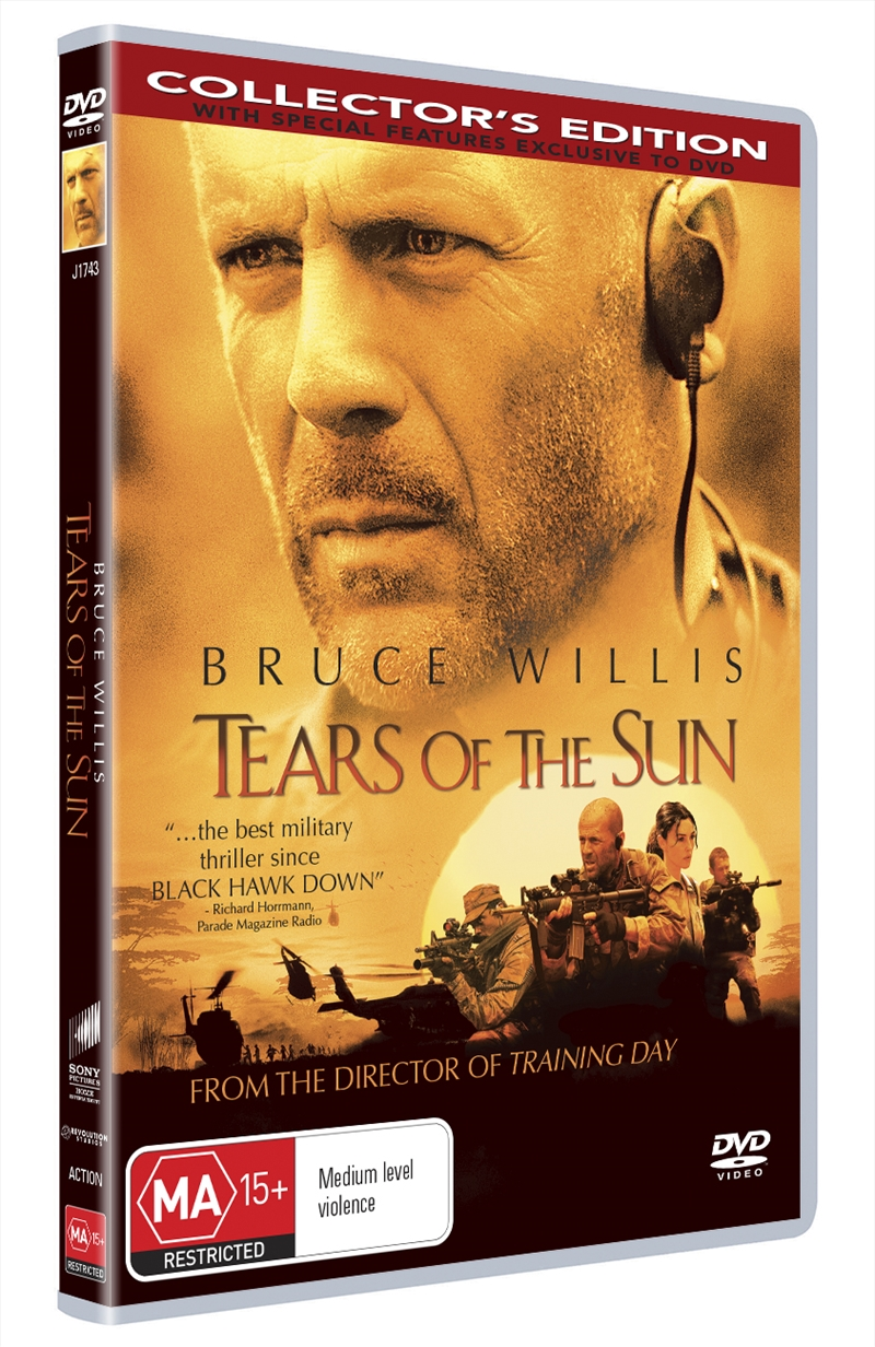 Tears Of The Sun | DVD
