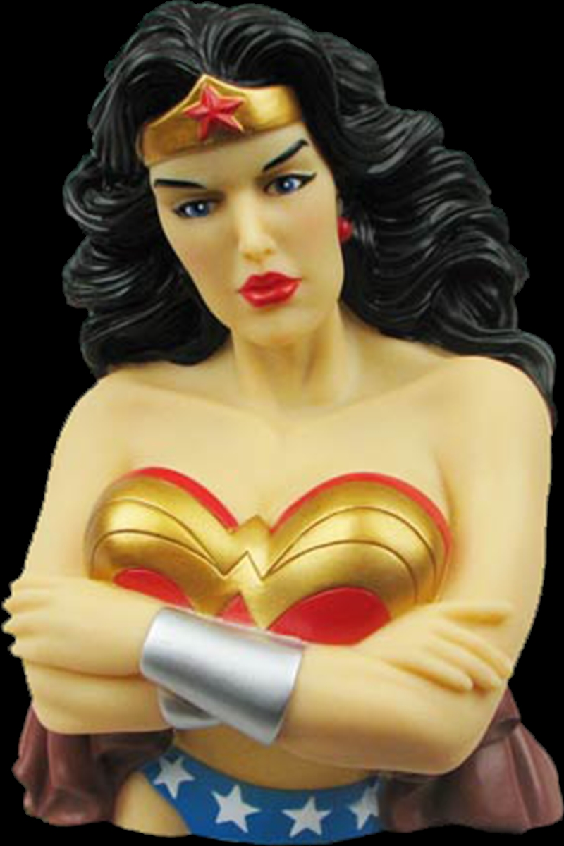 Wonder Woman - Bust Bank | Homewares