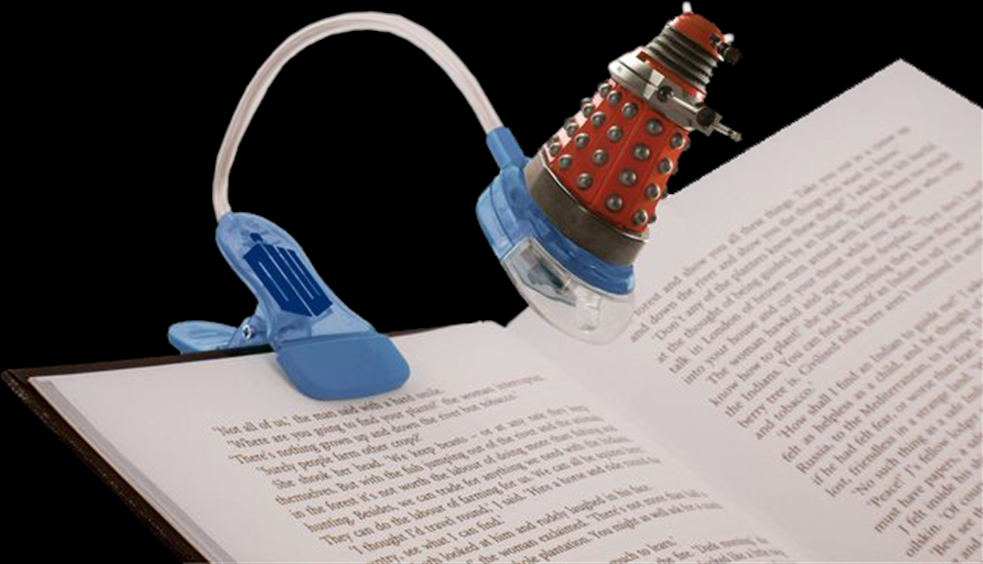 Doctor Who - Clip on Booklight | Homewares
