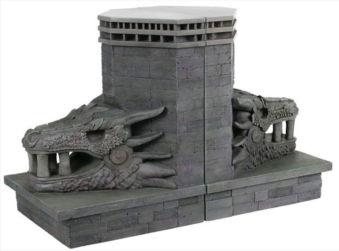 Game of Thrones - Dragonstone Gate Dragon Bookends | Homewares