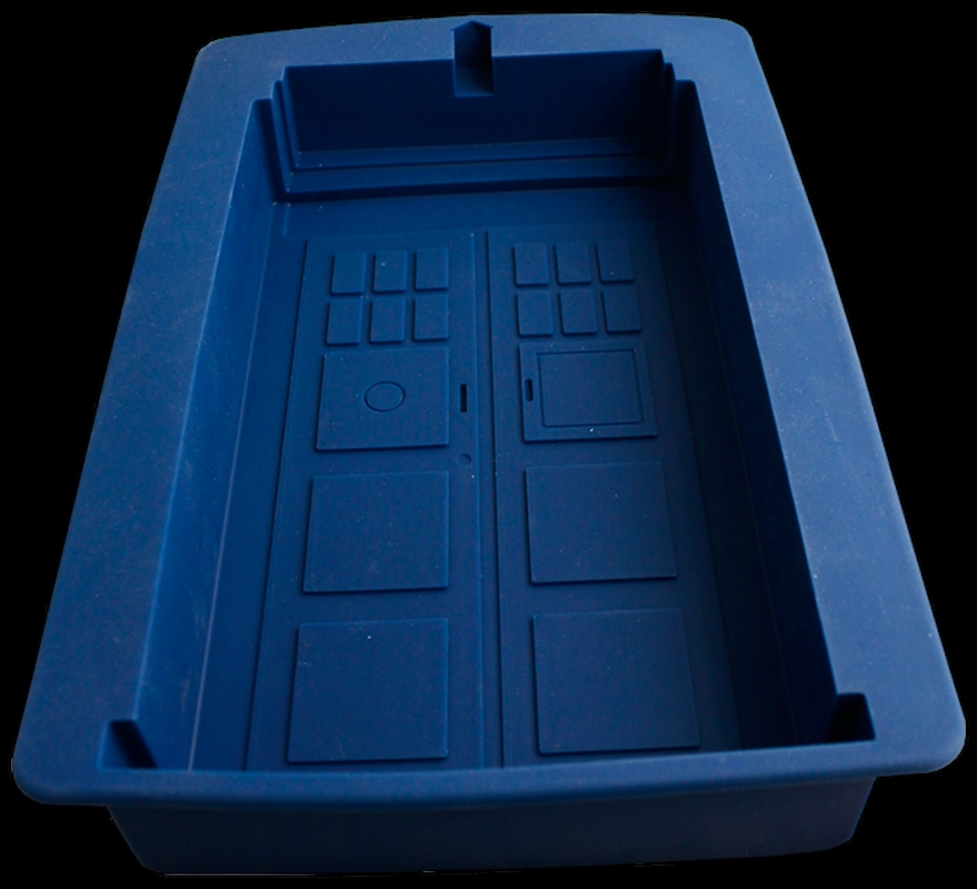 Doctor Who - TARDIS Silicone Cake Mould | Homewares