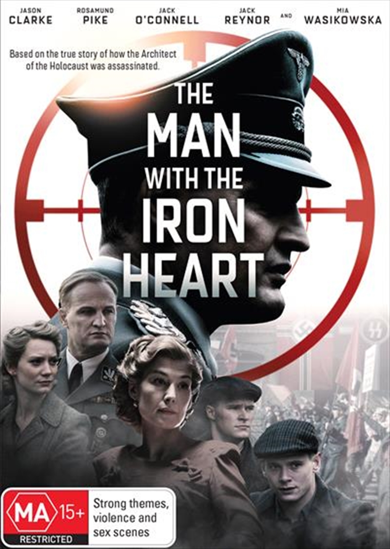 Man With The Iron Heart, The | DVD