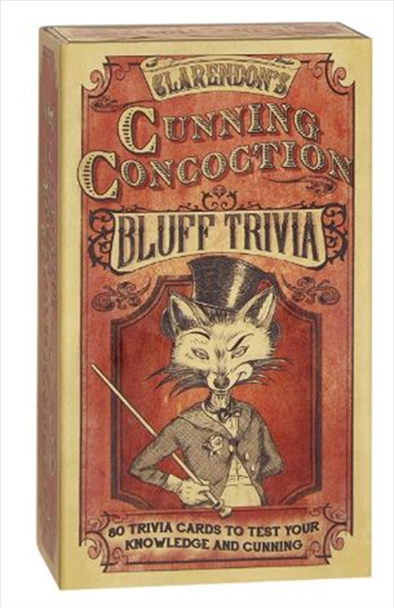 Cunning Concoction Bluff Trivia | Merchandise