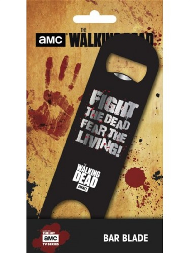 The Walking Dead Fear Bar Blade | Miscellaneous