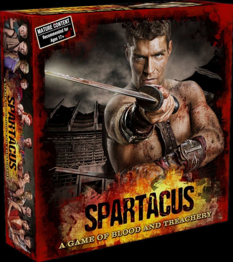 Spartacus - A Game of Blood and Treachery Board Game | Merchandise