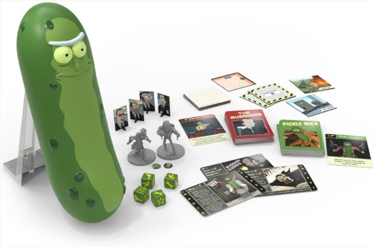Rick and Morty - The Pickle Rick Game | Merchandise