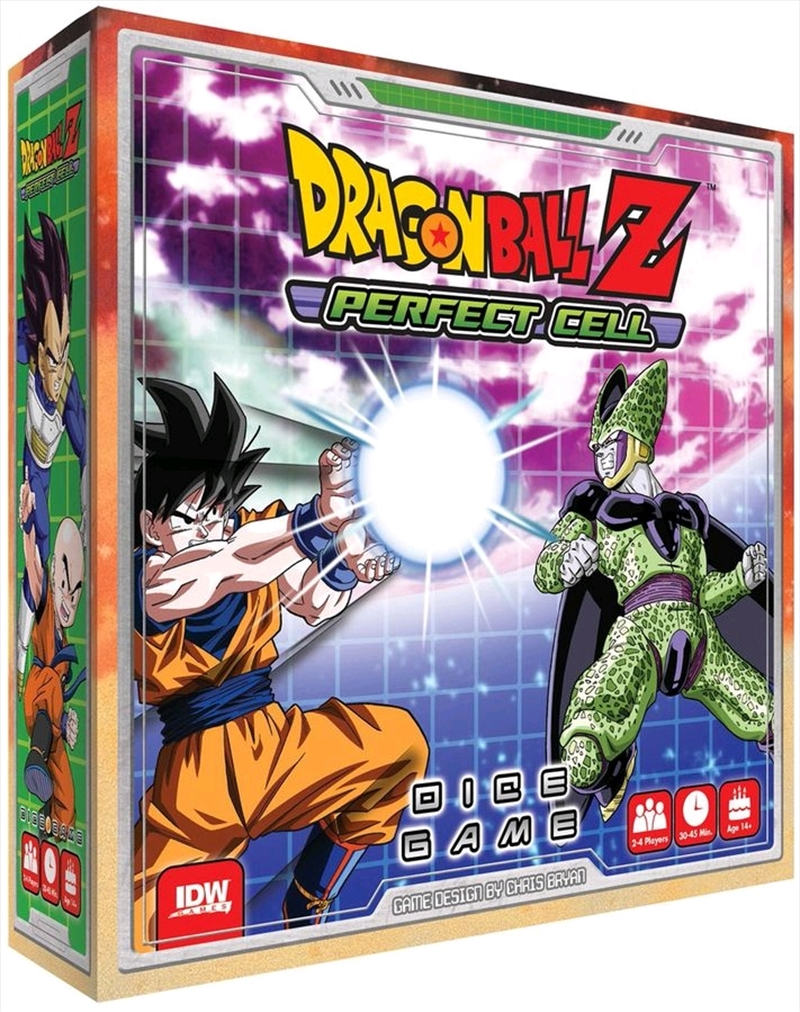 Dragon Ball Z - Perfect Cell Board Game | Merchandise