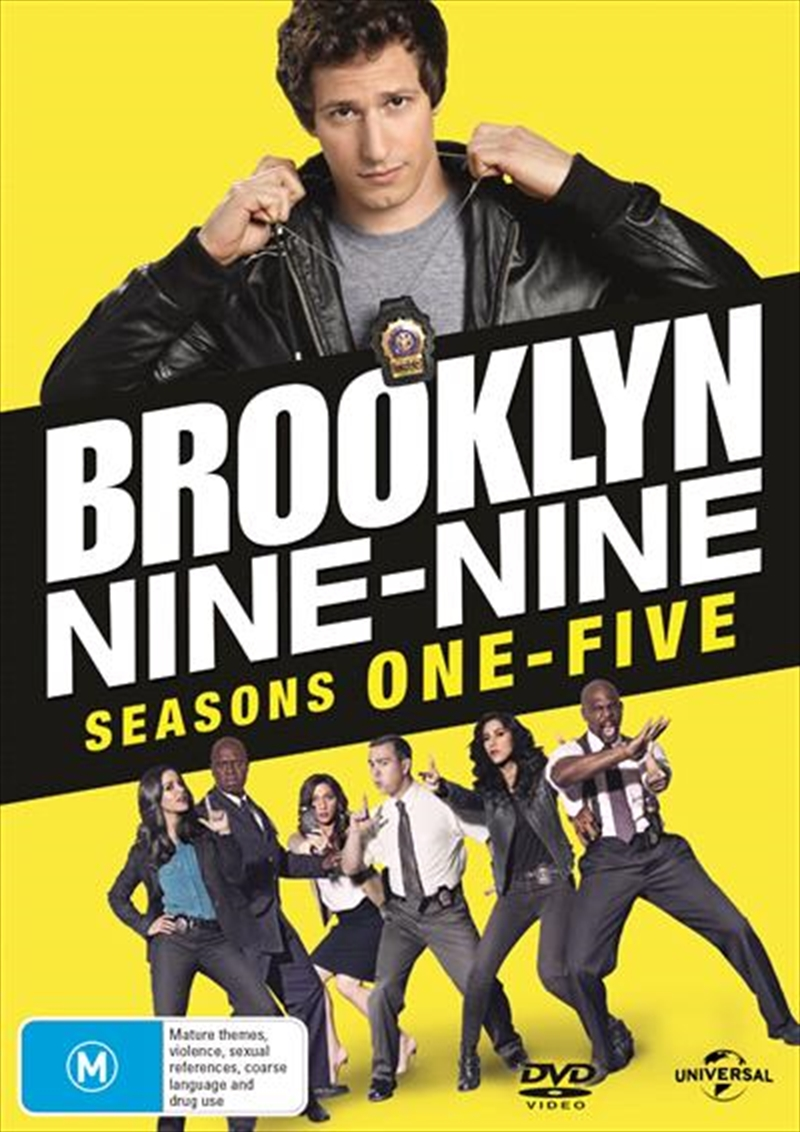 Brooklyn Nine-Nine - Season 1-5 | DVD