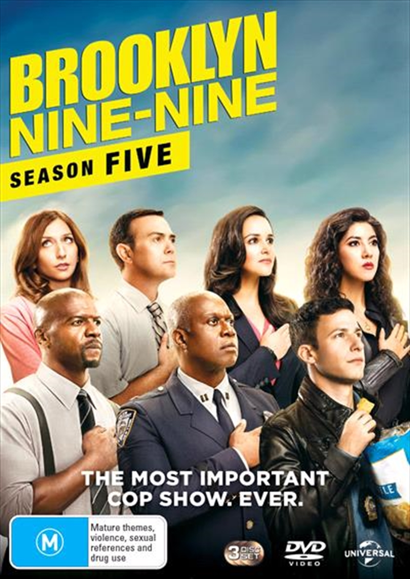Buy Brooklyn Nine-Nine - Season 5 on DVD | Sanity