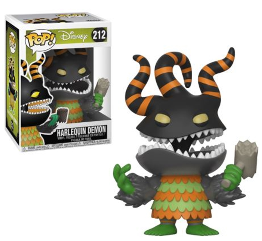 Nightmare Before Christmas - Harlequin Demon Pop! Vinyl | Pop Vinyl