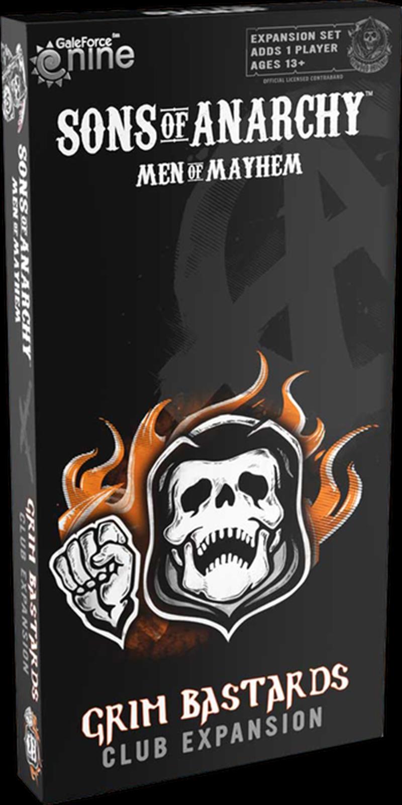 Sons of Anarchy - Grim Bastards Expansion   Merchandise