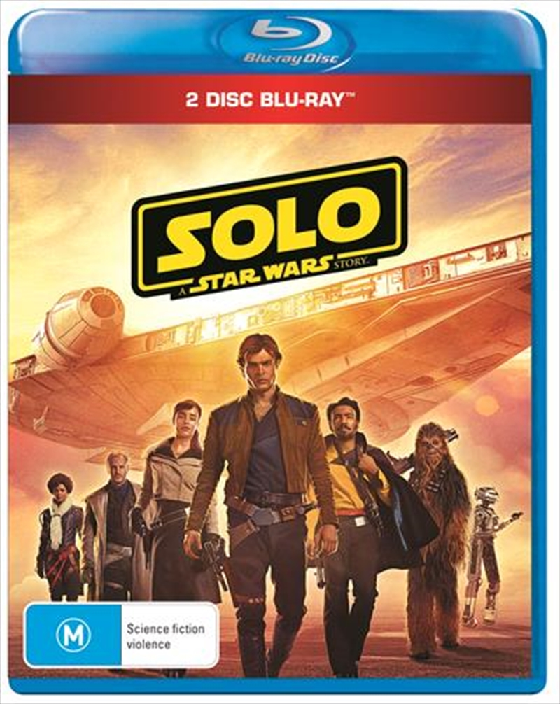 Solo - A Star Wars Story | Bonus Disc + Poster | Blu-ray