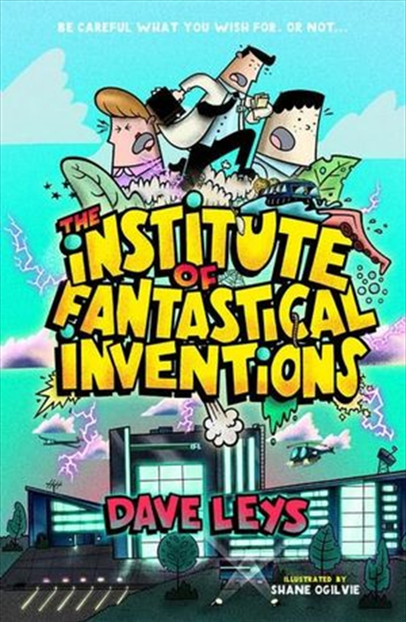 The Institute of Fantastical Inventions | Paperback Book