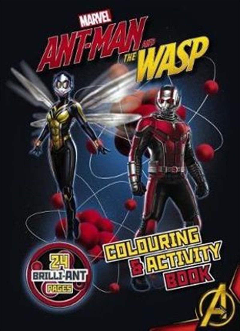 Marvel: Ant-Man and the Wasp Colouring and Activity Book | Paperback Book