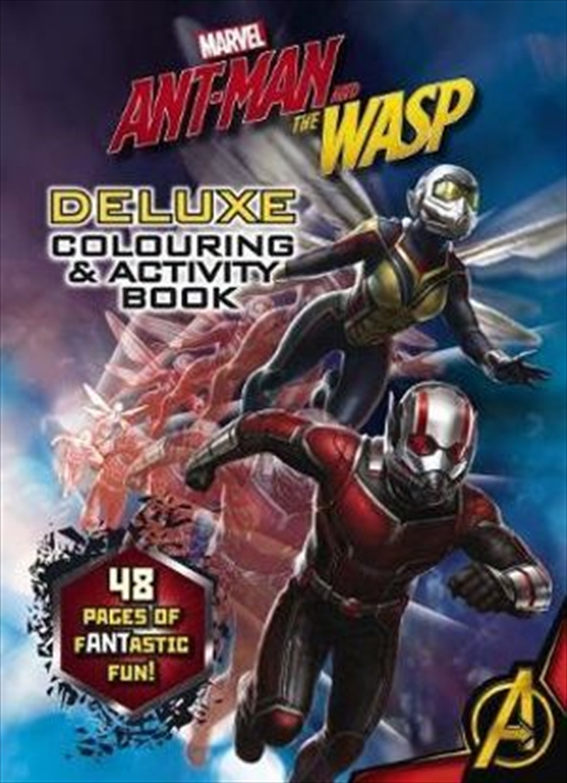 Marvel: Ant-Man and the Wasp Deluxe Colouring & Activity Book | Paperback Book