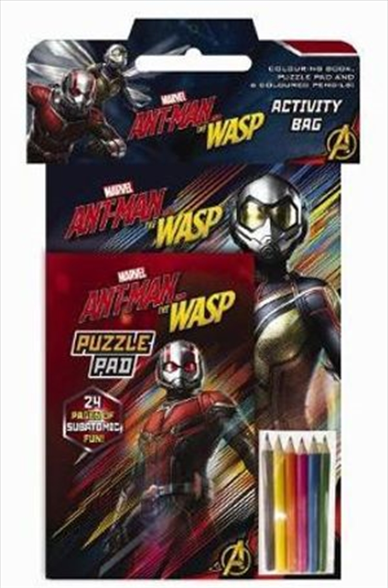 Marvel: Ant-Man and the Wasp Activity Bag | Paperback Book