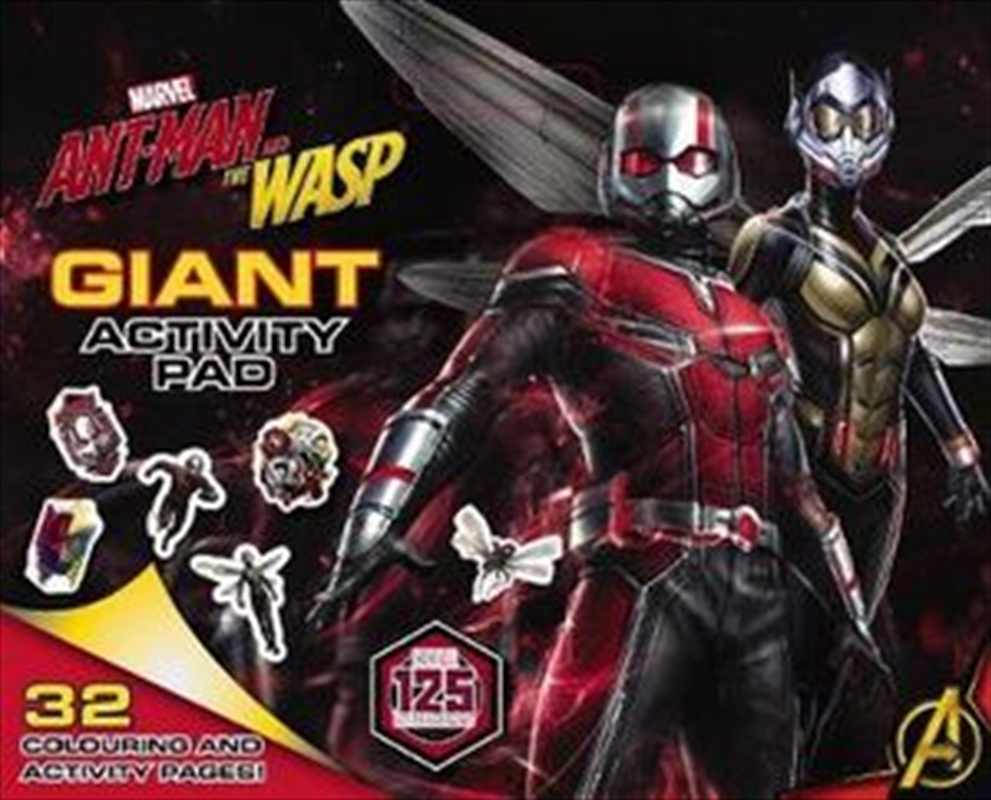 Marvel: Ant-Man and the Wasp Giant Activity Pad | Paperback Book