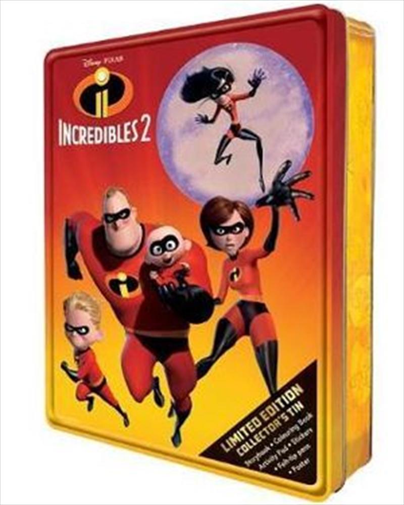 Disney Pixar Incredibles 2: Limited Edition Collector's Tin | Hardback Book
