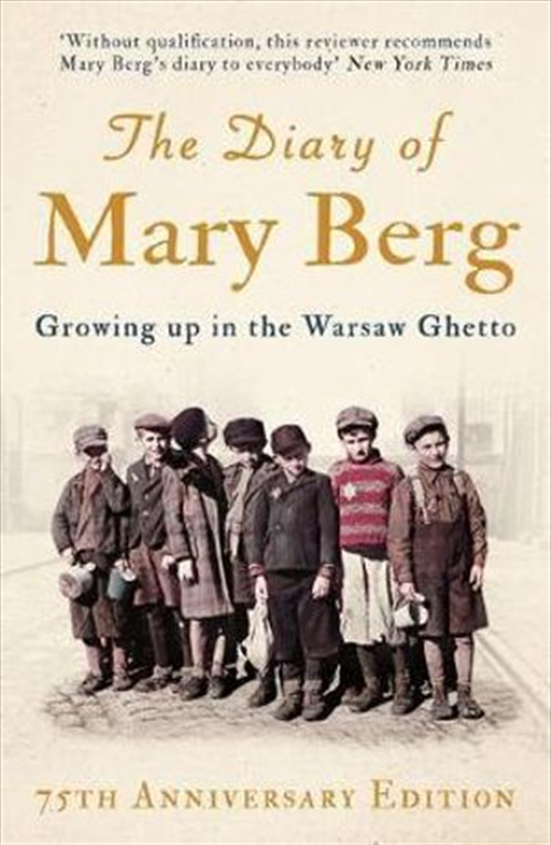 Diary Of Mary Berg | Paperback Book