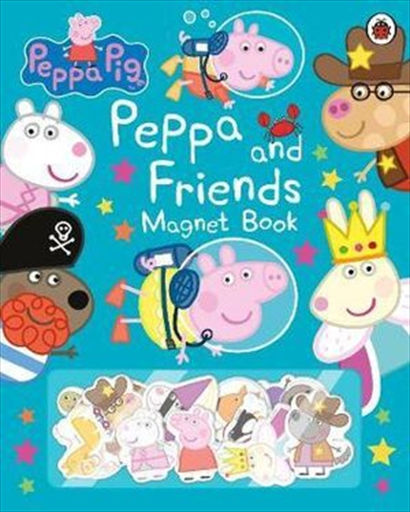 Peppa Pig: Peppa And Friends Magnet Book   Hardback Book