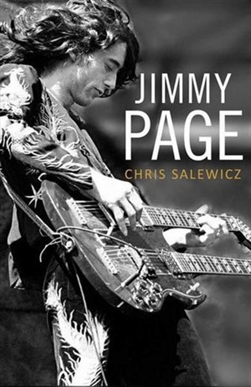 Jimmy Page: The Definitive Biography   Paperback Book