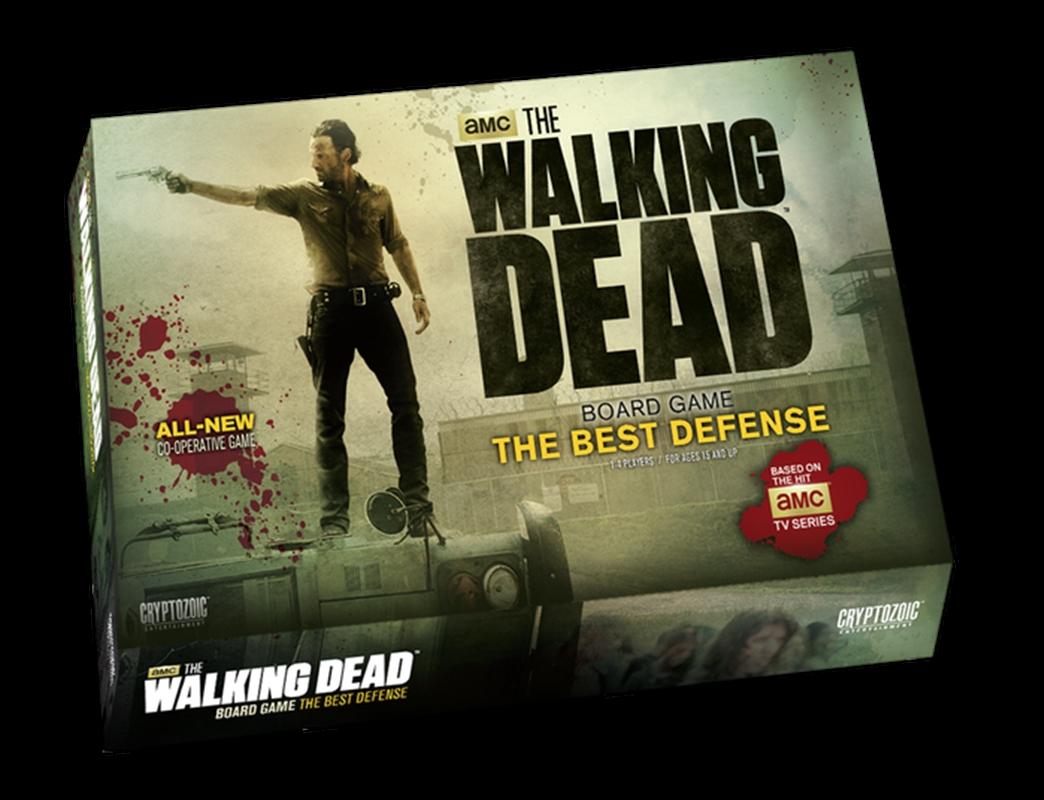 The Walking Dead - The Best Defense Board Game | Merchandise