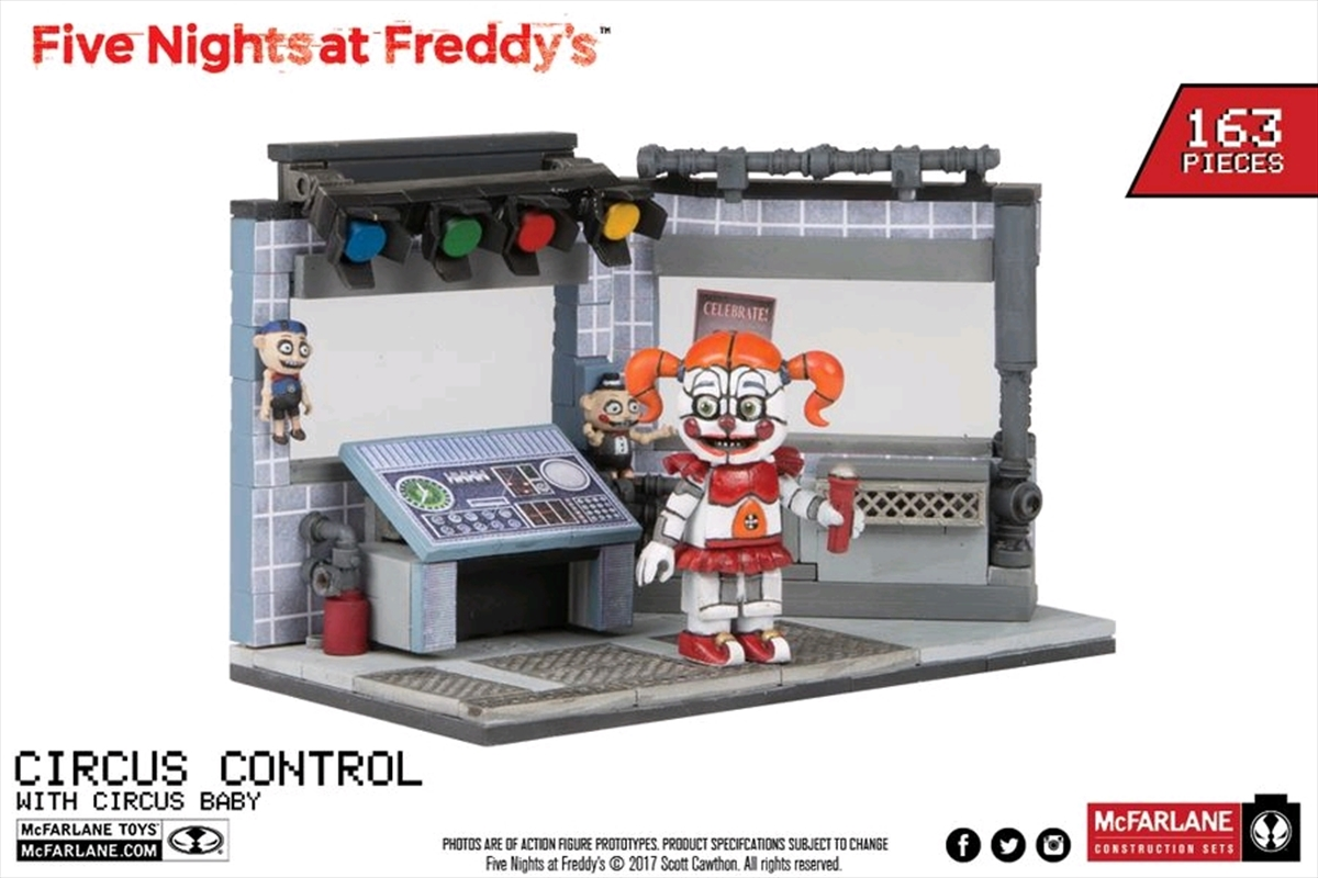 Five Nights at Freddy's - Circus Control Medium Construction Set Assortment | Collectable