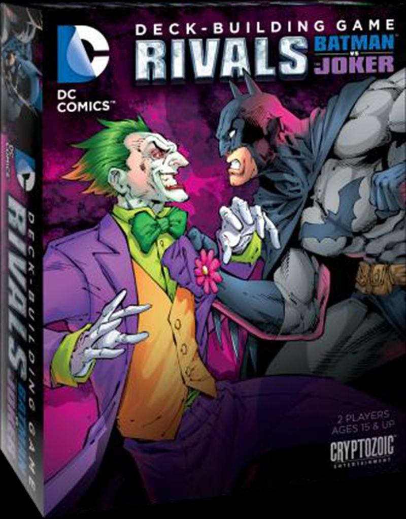 DC Comics - Deck-Building Game Rivals Batman vs Joker | Merchandise