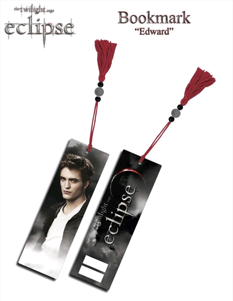 The Twilight Saga: Eclipse - Bookmark Edward | Merchandise