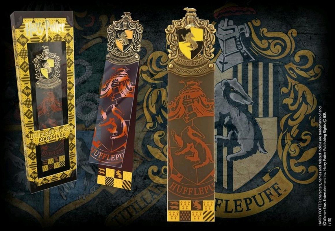 Harry Potter - Hufflepuff Crest Bookmark | Merchandise