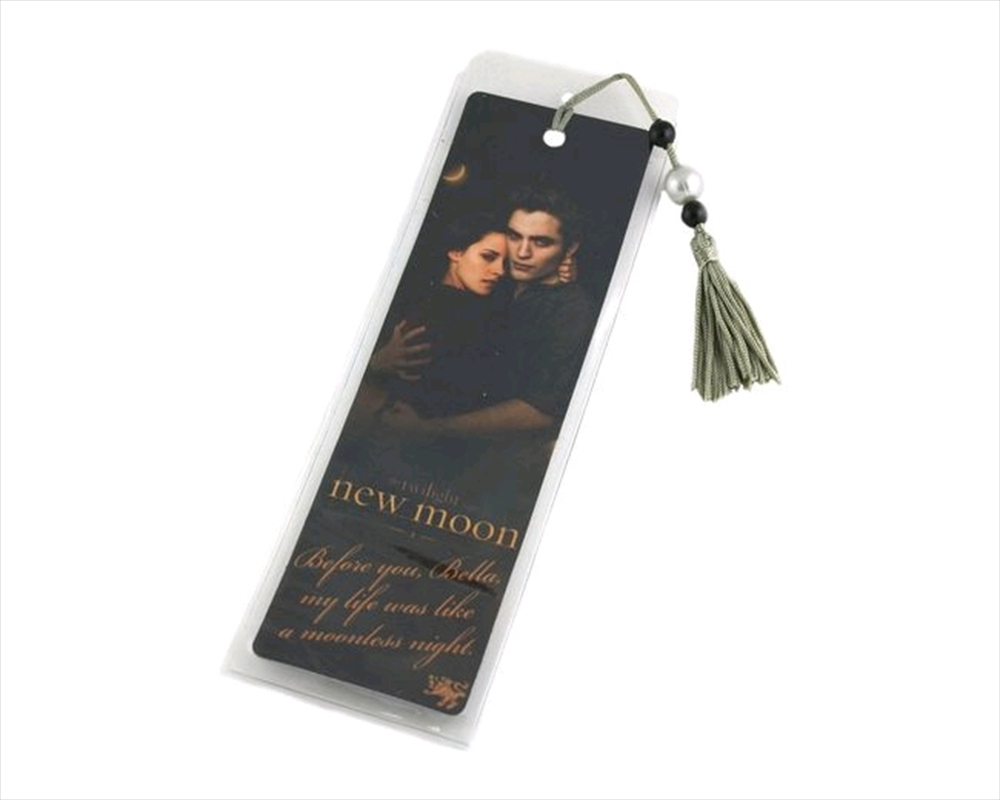 The Twilight Saga: New Moon - Bookmark Moonless Quote Edward & Bella | Merchandise
