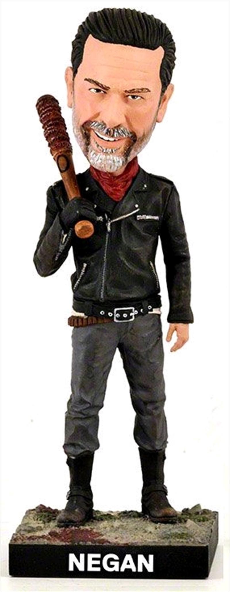 The Walking Dead - Negan Resin Bobble Head   Merchandise