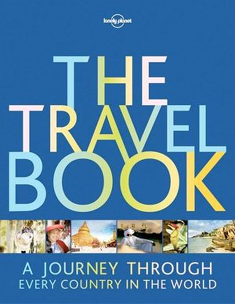 Lonely Planet - The Travel Book: A Journey Through Every Country in the World | Paperback Book