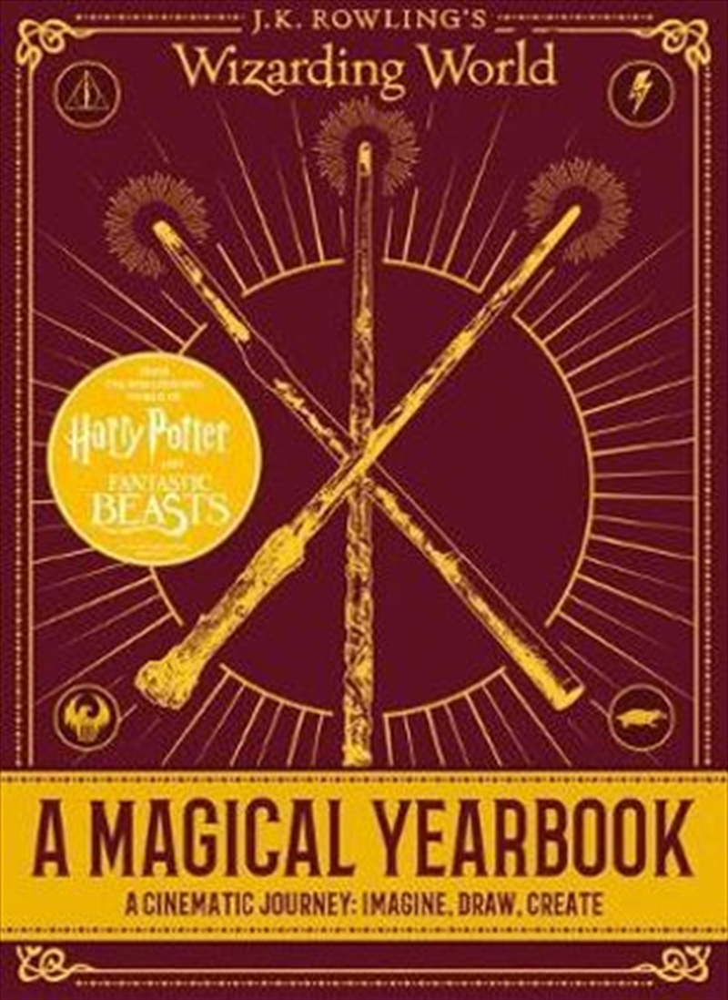 Wizarding World: A Magical Yearbook | Hardback Book