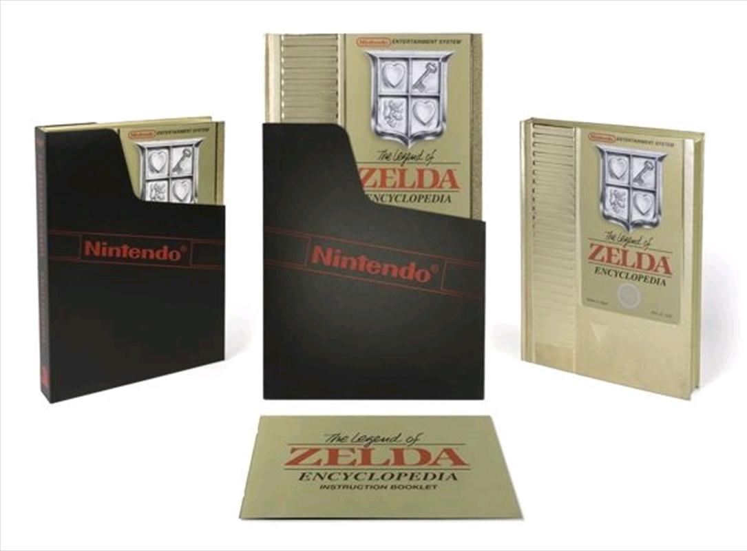 The Legend of Zelda - Legend of Zelda Encyclopedia Deluxe Hardcover | Hardback Book