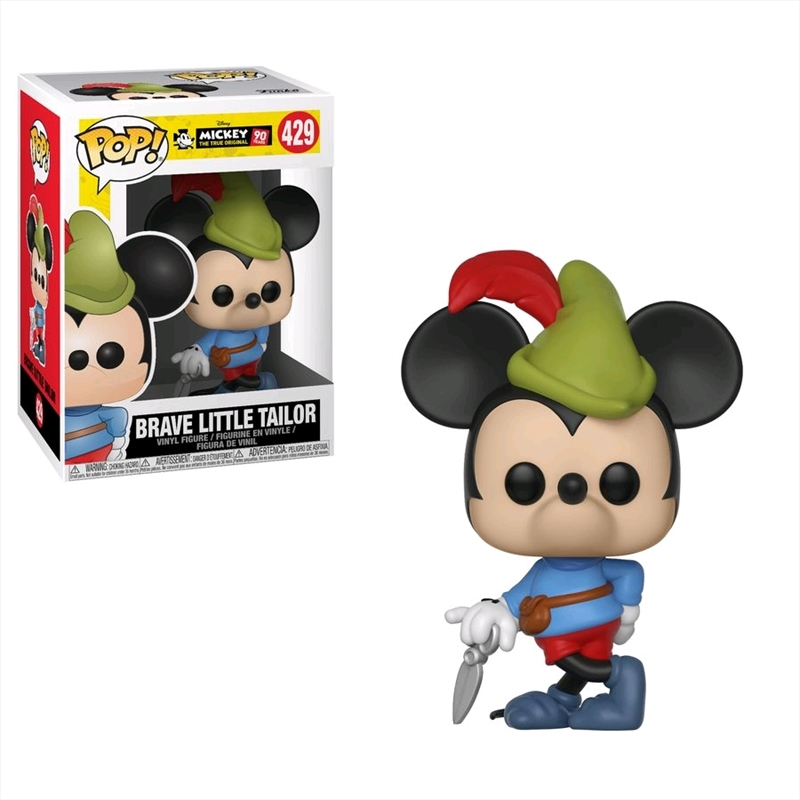Mickey Mouse - 90th Brave Little Tailor Pop! Vinyl | Pop Vinyl