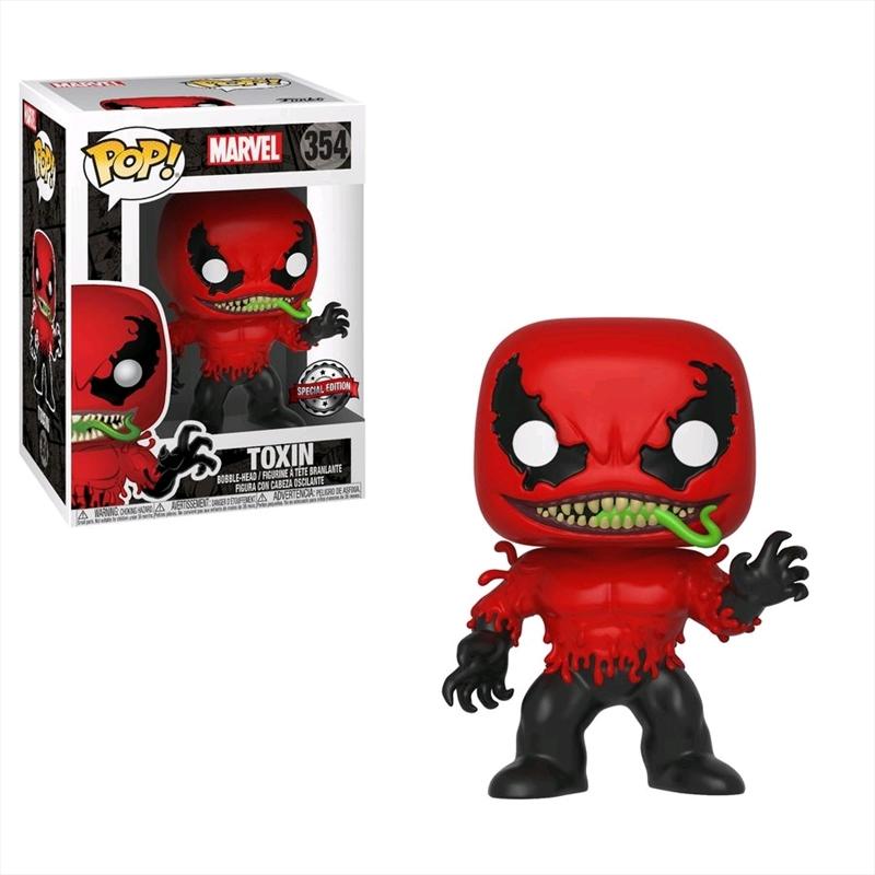 Buy Spider Man Toxin Pop Vinyl Sanity