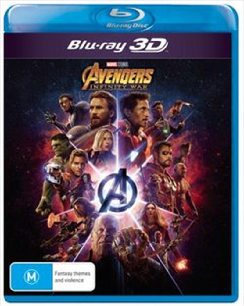 Avengers - Infinity War | Blu-ray 3D