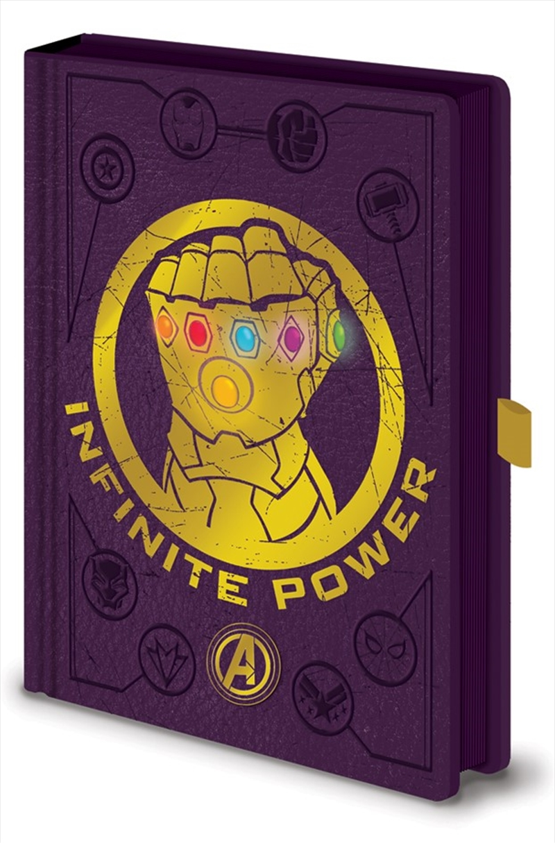 Avengers Gauntlet Led A5 Nbook | Merchandise