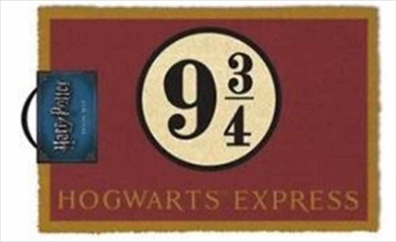 Harry Potter - Platform 9 & 3/4 Doormat   Merchandise